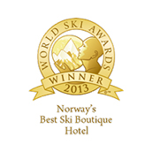 Norway's best ski boutique hotel